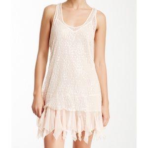 NWT Intimately Free Shiny Sequin Mesh Dress